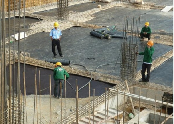 kết cấu bê tông cốt thép tầng hầm