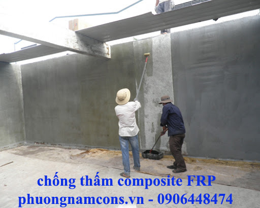 Chống thấm composite FRP
