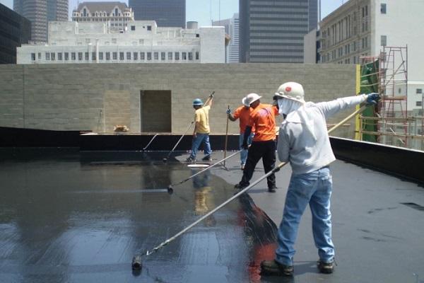 chống thấm sàn mái bằng nhựa đường