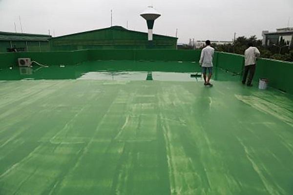 sơn epoxy chống thấm sàn mái
