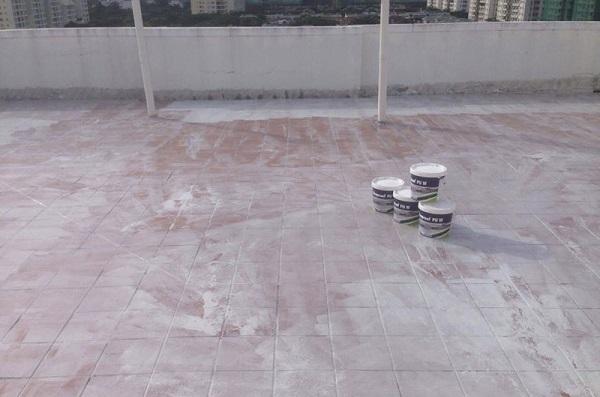 Chống thấm sân thượng đã lát gạch bằng Neoproof PU W
