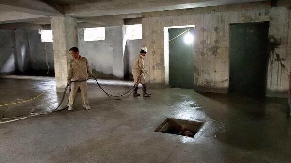 chống thấm ngược tầng hầm
