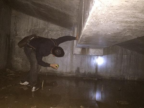 tầng hầm công trình nhà cao tầng bị thấm