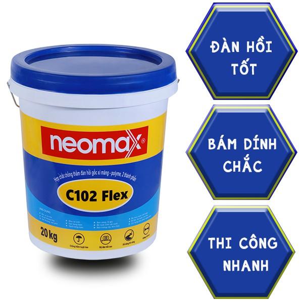 sơn chống thấm neomax c102 Flex