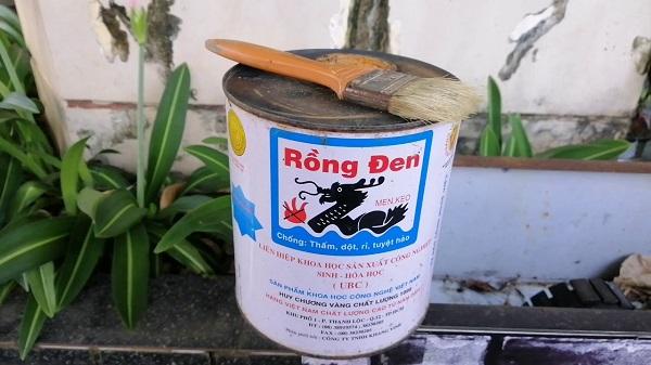 sơn chống thấm rồng đen 2kg