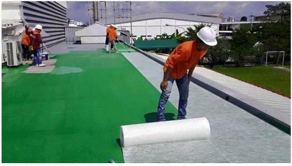 chống thấm composite sân thượng